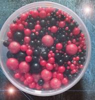 Посыпка Сахарные шарики разного диаметра микс 54 не жесткие, 100гр
