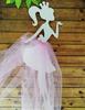 девочка с юбочкой2  цв. розовый (фатин)