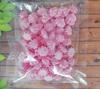сахарные фигурки мини-безе розовые (размер 1см)