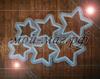 силиконовая форма для леденцов звезды разного диаметра