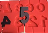 """силиконовая форма для шоколада и карамели. """"цифры"""" Микс"""