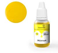 Краситель пищевой гелевый жирорастворимый Caramella 503 Желтый 20 гр