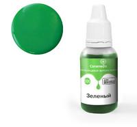 Краситель пищевой гелевый жирорастворимый Caramella 506 Зеленый 20 гр