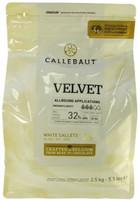 Шоколад белый Callebaut Velvet 32% (2,5 кг) Бельгия