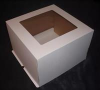 Коробка 24*24*26 с окном (гафрокартон)