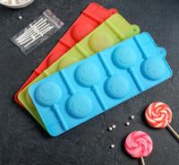 Форма для леденцов и мороженого «Смайл»,  (d=4 см)цвет МИКС