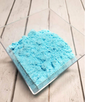 """Пудра нетающая сахарная """"голубая"""""""