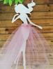 девочка с юбочкой3 цв. розовый  (фатин)