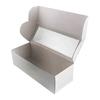 Коробка для рулета 26*10*8 см Белая с окном
